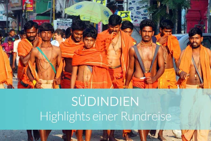 Südindien Rundreise: Beitragsbild