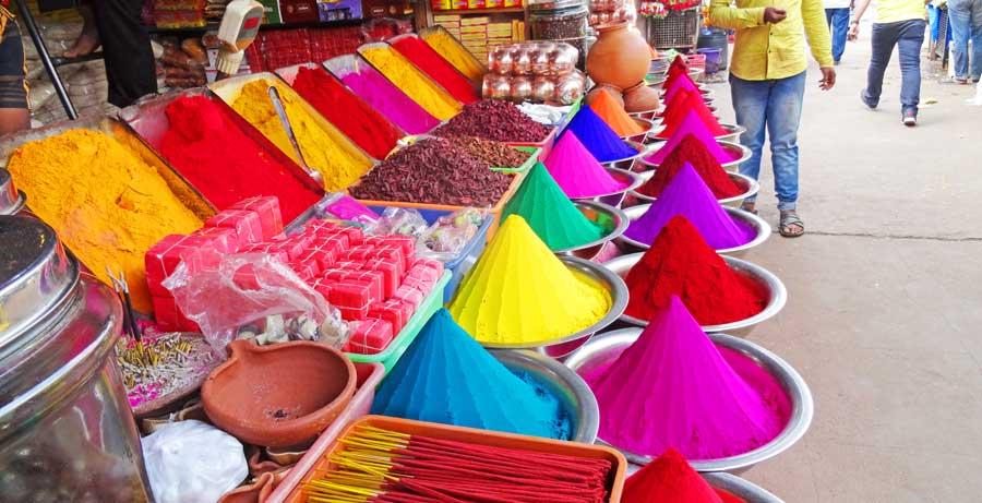 Südindien Rundreise: Markt