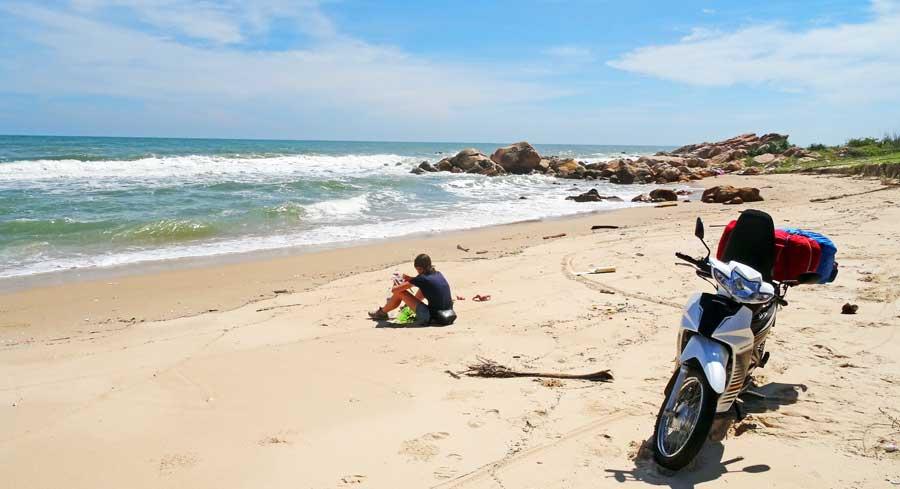 Motorradtour Vietnam: Traumhafte Landschaft