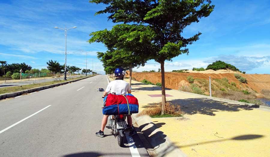 Motorradtour Vietnam: Sonnige Pause