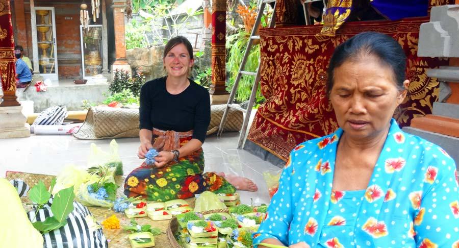 Nachhaltig reisen: Tief in die Kultur eintauchen