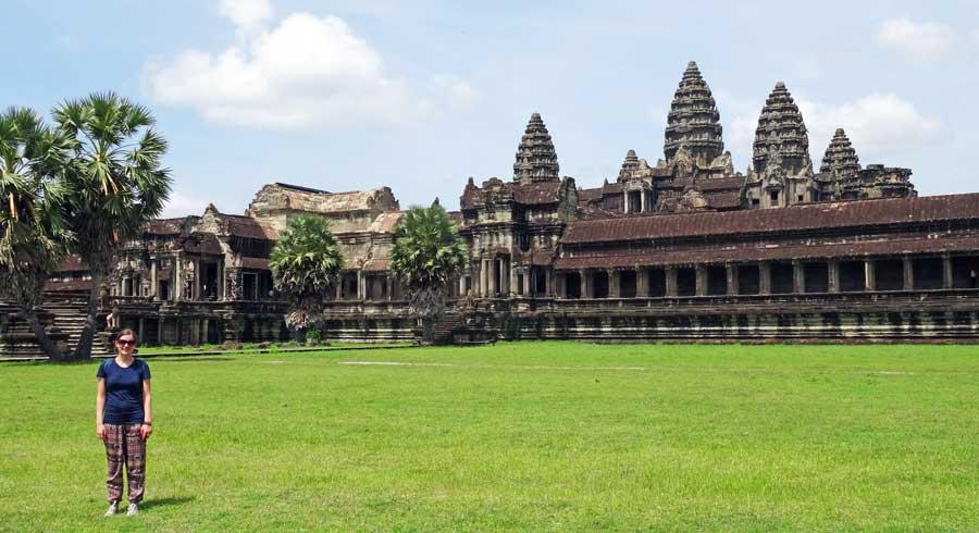 Battambang Kambodscha Sehenswürdigkeiten: Siem Reap und Angkor Wat