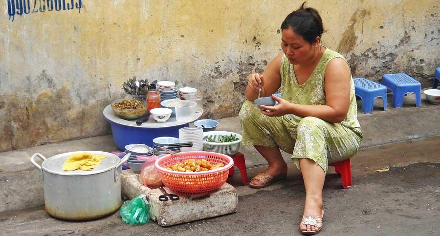 Hanoi Sehenswürdigkeiten: Street Food vom Feinsten