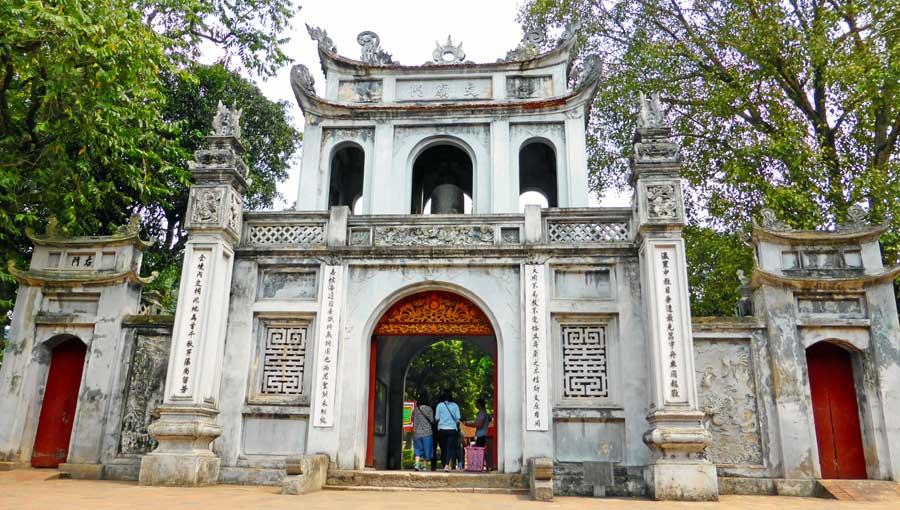 Hanoi Vietnam Sehenswürdigkeiten: Literaturtempel