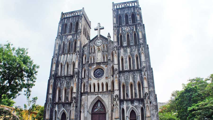 Hanoi Vietnam Sehenswürdigkeiten: St. Joseph Kathedrale