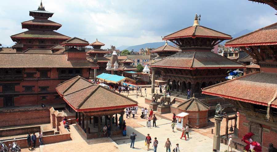 Kathmandu Sehenswürdigkeiten: Durbar Square - Tempel in Lalitpur (Patan) & Bhaktapur Stupa