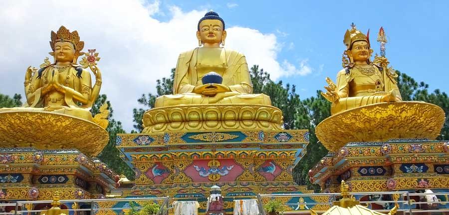 Kathmandu Sehenswürdigkeiten: Swayambhunath