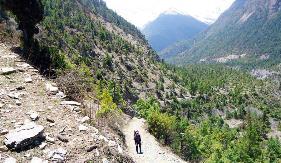 Nepal Backpacking: Annapurna Circuit Dhaulagiri