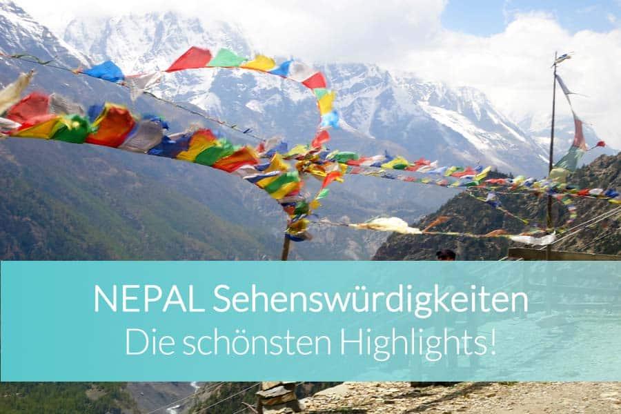 Nepal Sehenswürdigkeiten: Top 10 Highlights - Bergsteiger am Mount Everest, Erdbeben, Patan