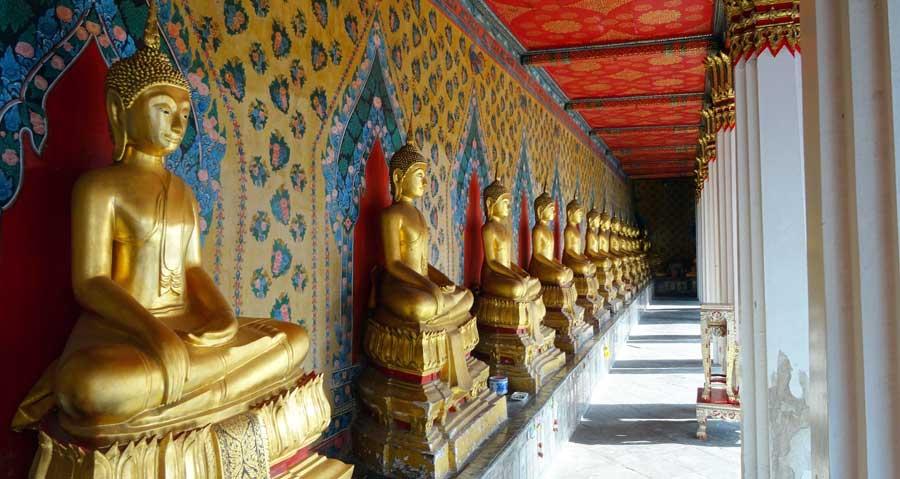 Nepal Sehenswürdigkeiten: Lumbini - Tempel und Stupa