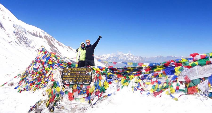 Nepal Trekking: Annapurna Circuit Thorung La Pass - Trekkingreise Gokyo, Everest Basecamp, Dolpo, Gosainkund, Khumbu etc.