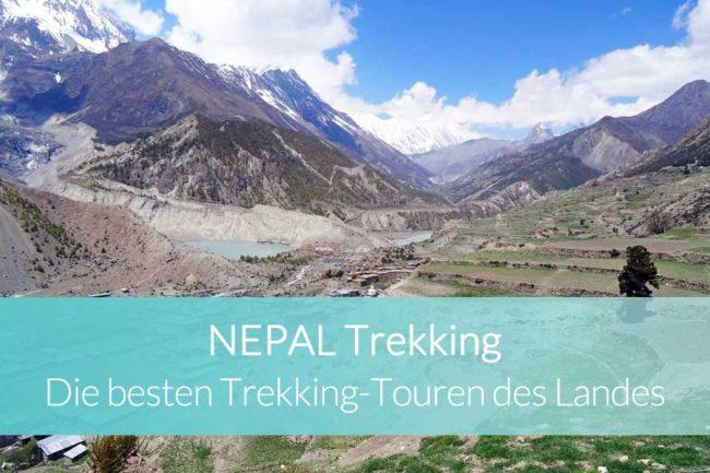 Nepal Trekking: Die besten Trekkingtouren des Landes