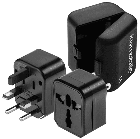 Packliste Nützliches: Adapter