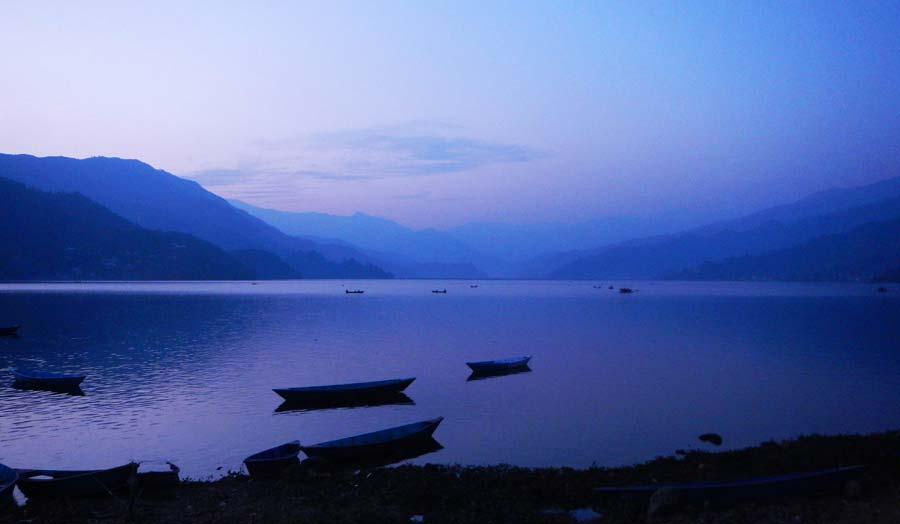 Pokhara Sehenswürdigkeiten: Lakeside See