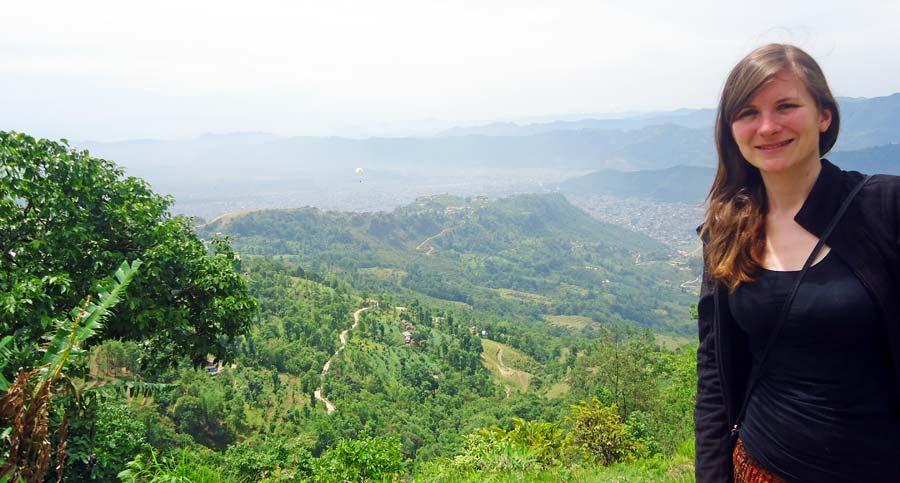 Pokhara Sarangkot Aussichtspunkt