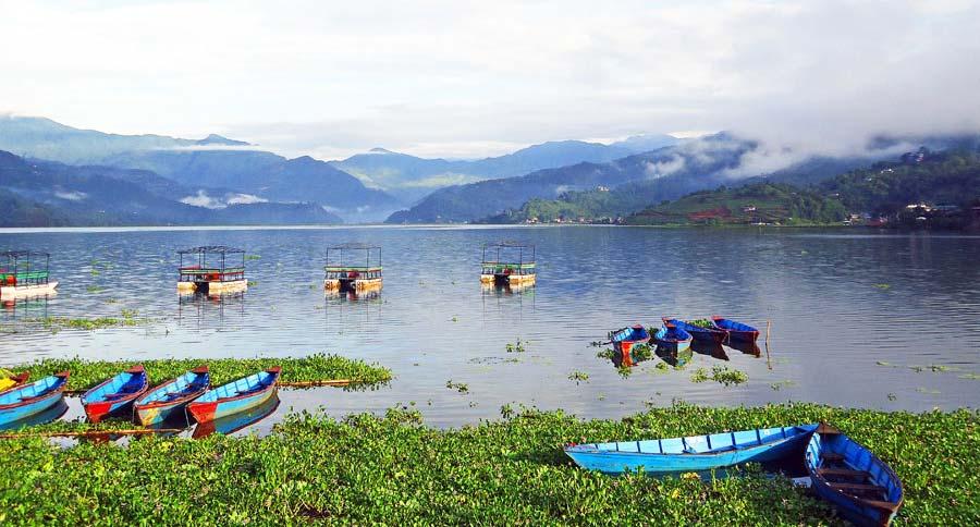 Pokhara Sehenswürdigkeiten: Lake Pokhara - Sarangkot, Gupteshwor Mahadev und Gandaki