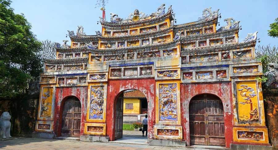 Vietnam Sehenswürdigkeiten: Kaiserstadt Hue
