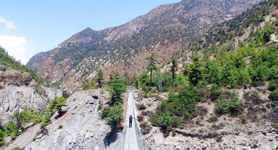 Annapurna Runde - Wanderung im Massiv, Tilicho, Ghorepani und Tatopani