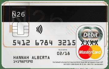 Weltreise Kreditkarte: N26 Reisekreditkarte - ohne Jahresgebühr, für Bargeldabhebungen in Fremdwährung