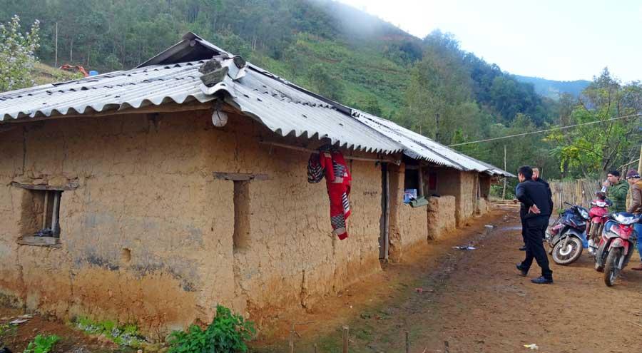 Yen Minh Vietnam: Eine Lehmhütte
