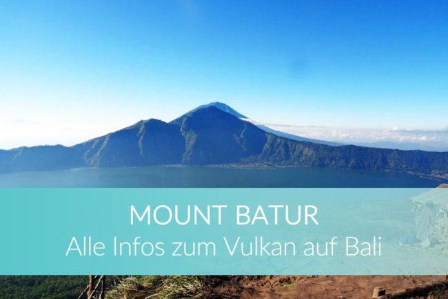 Gunung Batur - Vulkan Bali