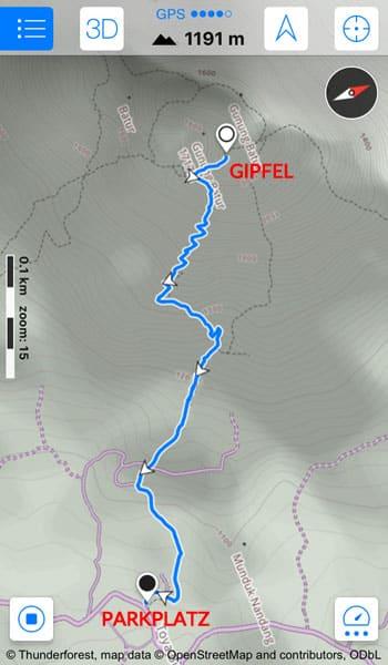 Mount Batur Trekking GPS Tour