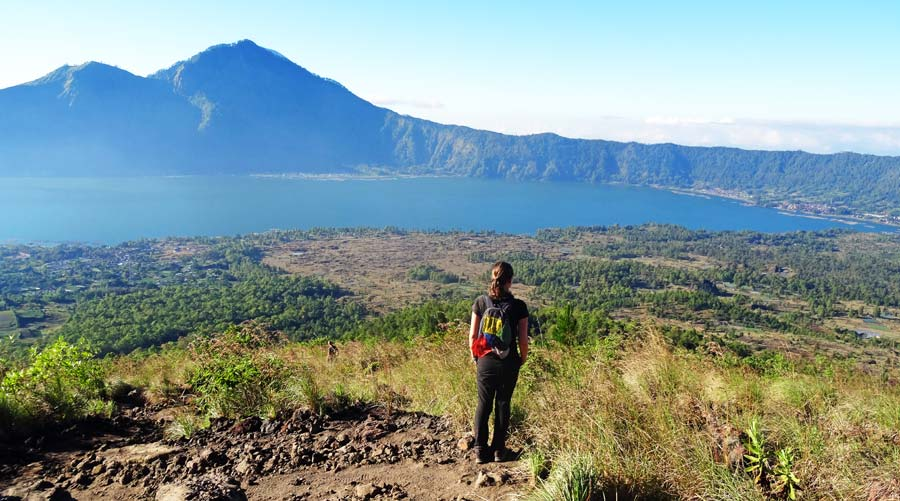 Mount Batur: Sunrise Trek, Vulkantrekking & Backpacking am Gunung in Indonesien