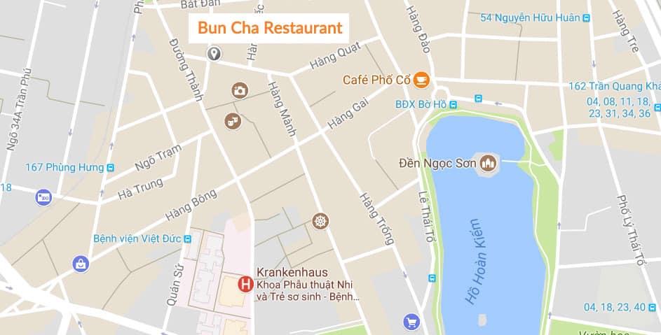 Vietnamesisches Essen: Bun Cha Restaurant