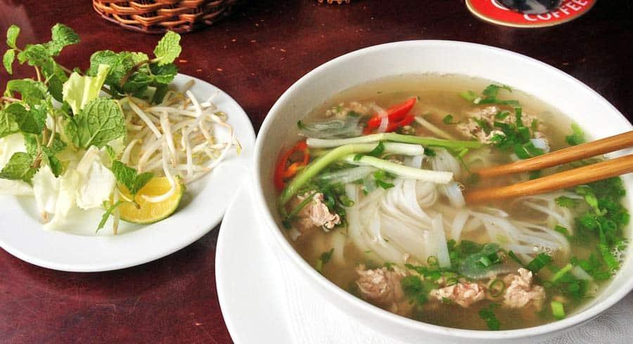 Vietnamesisches Essen: Pho-Bo