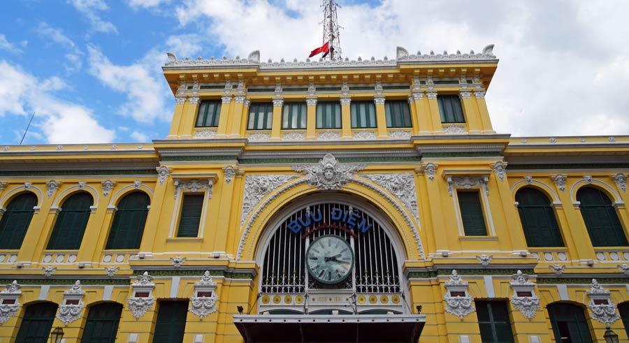 Saigon Sehenswürdigkeiten: Ho Chi Minh Wiedervereinigungspalast