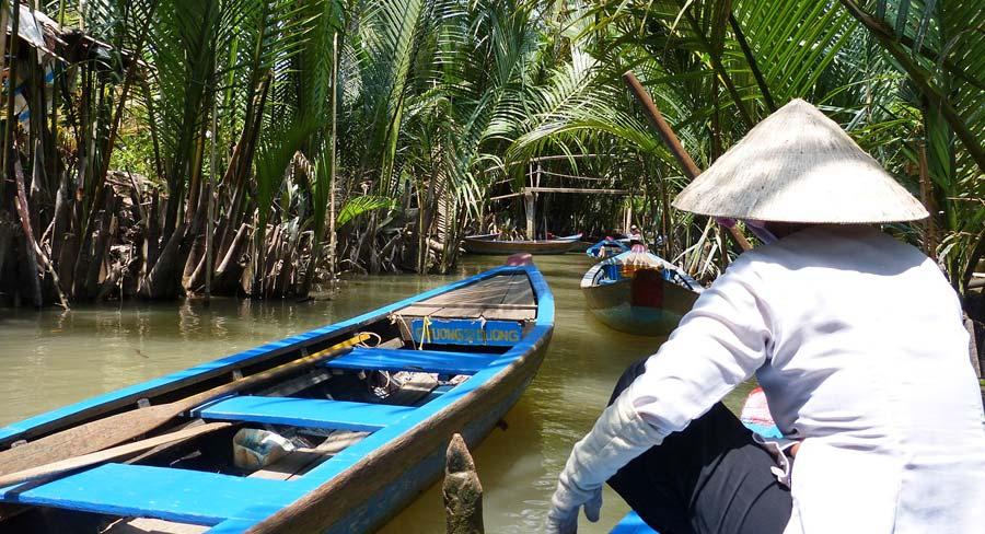Saigon Sehenswürdigkeiten: Mekong, Backpacking Südostasien