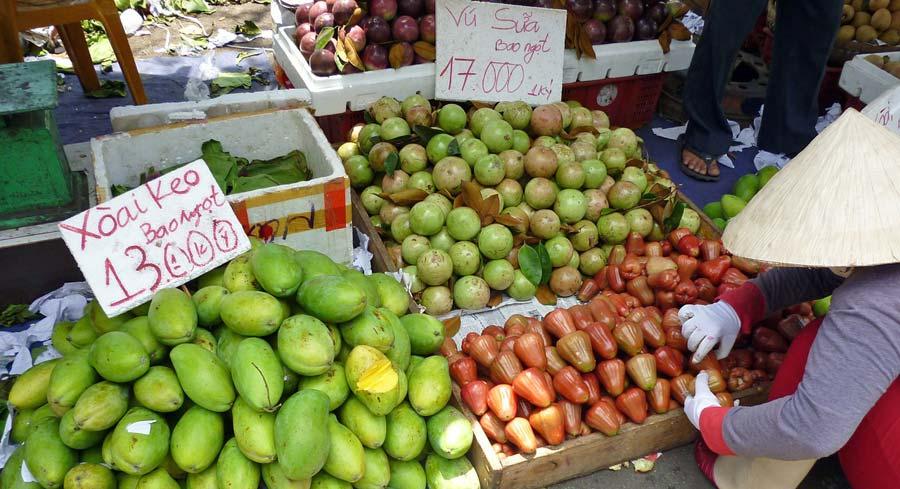 Saigon Sehenswürdigkeiten: Ho Chi Minh Ben Thanh Markt