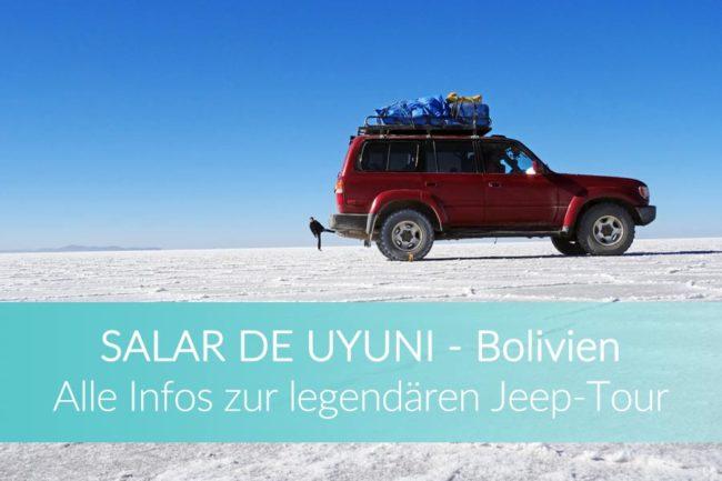 Salar de Uyuni Jeep Tour