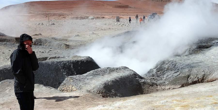 Salzwüste: Salzebene Lithium nach La Paz