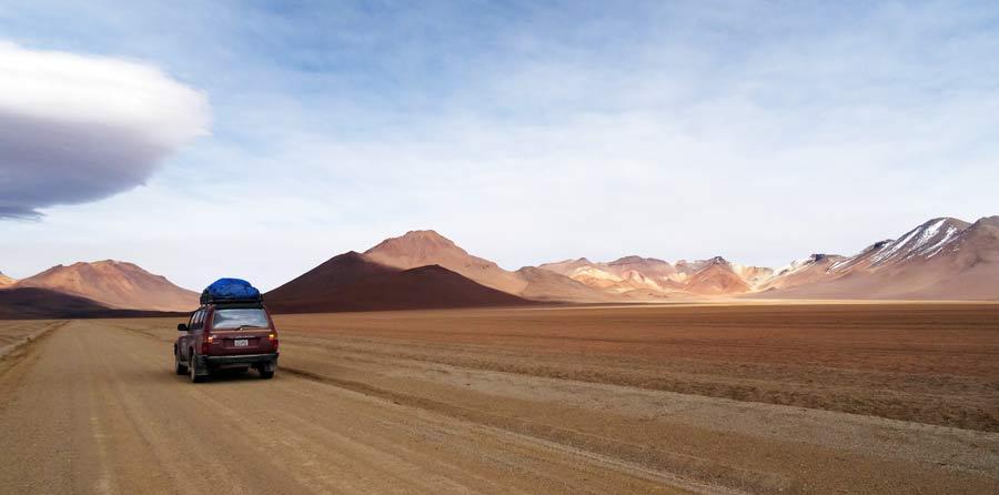 Salar de Uyuni: Wüste auf dem Altiplano Bolivien