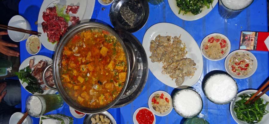 Vietnamesisches Essen Hot Pot