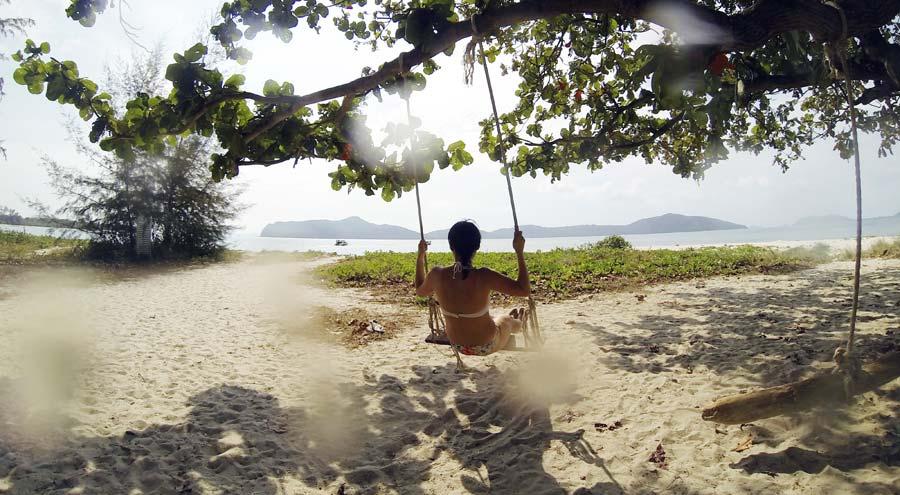 Nachhaltig reisen Thailand Strand
