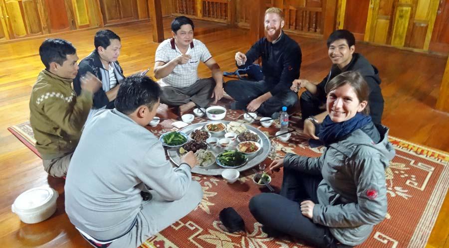 Vietnamesisches Essen Hanoi