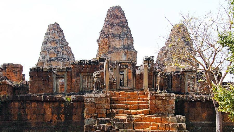 Angkor Wat: Ost Mebon Tempel