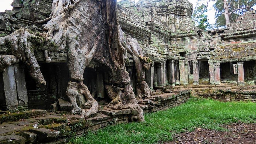 Ankor Wat: Kambodscha Tempelanlage
