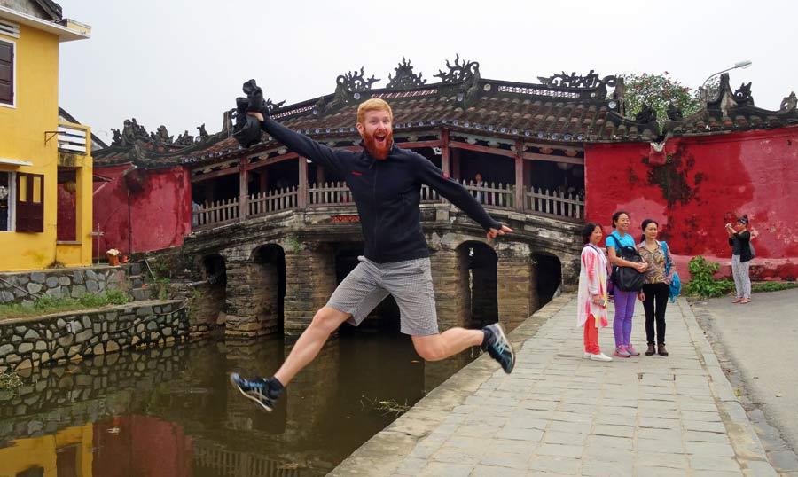 Hoi An Vietnam: Japanische Brücke Altstadt