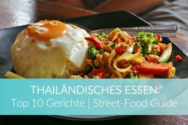 Thailändisches Essen: Curry