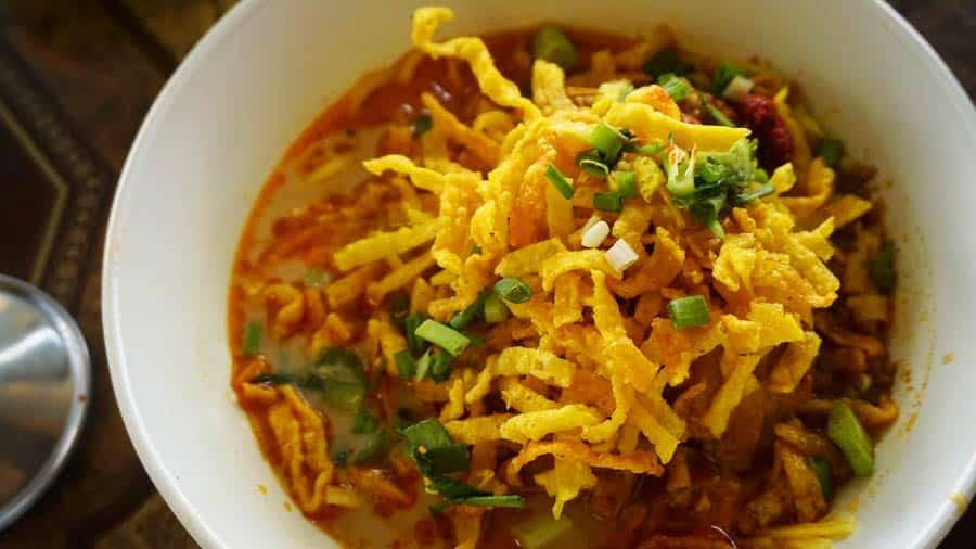 Thailändisches Essen: Khao Soi