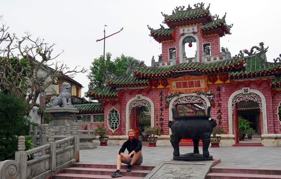 Hoi An Vietnam: Altstadt und Brücke