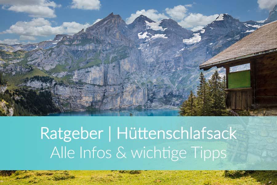 Hüttenschlafsack Test & Ratgeber