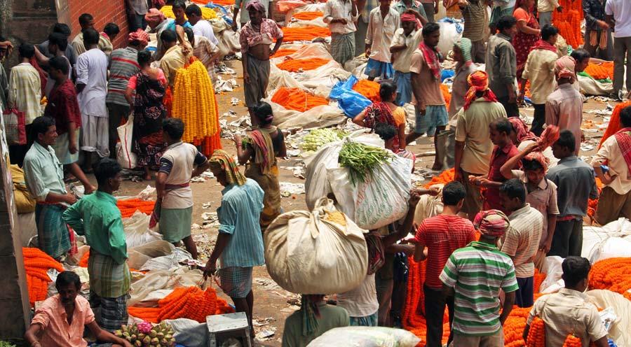 Indien Sehenswürdigkeiten: Kalkutta - religiöse Stätten Ganges, Jahan und Cochin