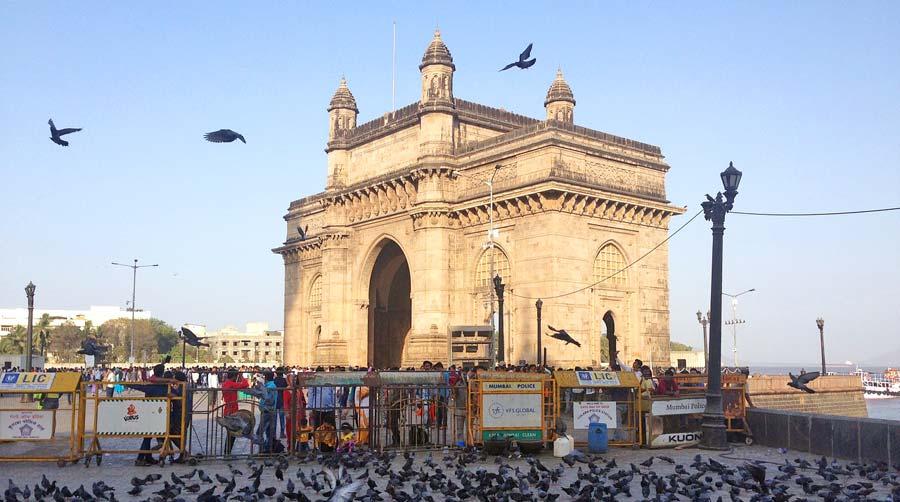 Indien Sehenswürdigkeiten: Mumbai, Bombay - religiöse Tempel, architektonische Stätten, Tempel Mandir Ganges