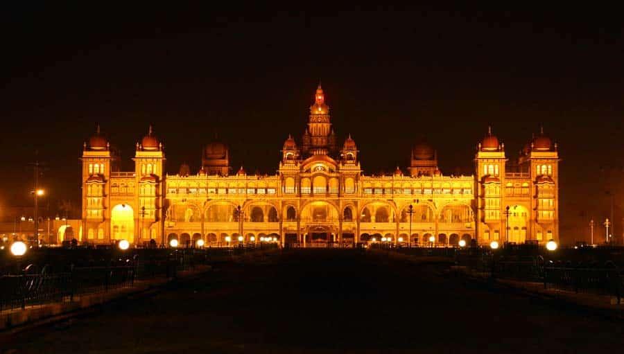 Indien Sehenswürdigkeiten: Mysore - religiöse Stätten Ganges, Jahan und Cochin