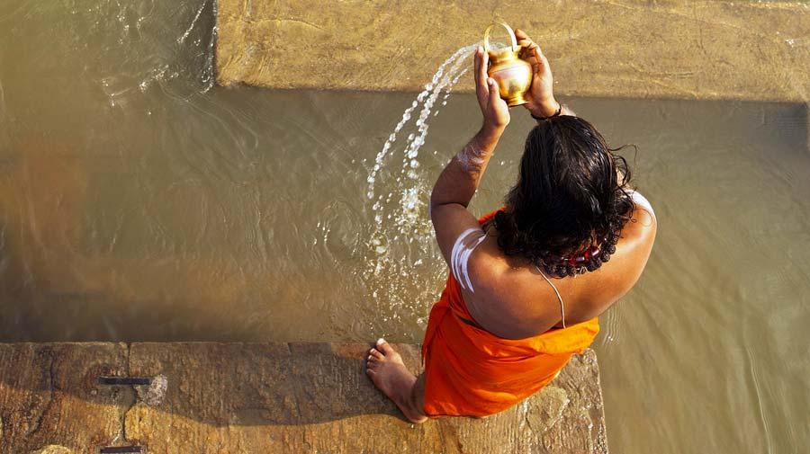Indien Sehenswürdigkeiten: Varanasi - religiöse Tempel, architektonische Stätten, Tempel Sarnath
