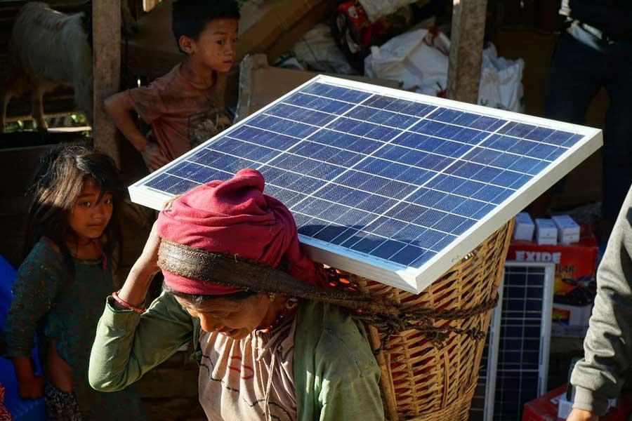 Solar-Ladegerät Test: SunHelp Projekte